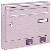 Cassetta inox Silmec mis.37,9x31x7 cm art.10.018