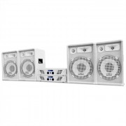 Electronic-Star DJ PA система WHITE STAR серии 'ARCTIC WINTER PRO' 2400W комплект (PL-AU-WH-2400-4.0)