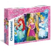 Puzzle Clementoni Printesele Disney, 60 piese