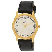 Titan Quartz Multi Round Men Watch 1636YL01