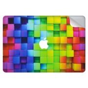 Blokken design sticker voor de MacBook Pro Retina 13.3 inch (2016-2017) / Touch Bar