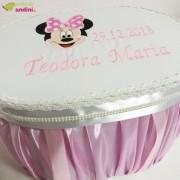 Cutie Trusou Botez Minnie Pink Bow