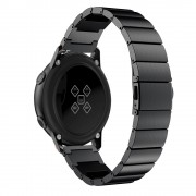 Stainless Steel Watch Band 20mm for Samsung Galaxy Watch Active - Black