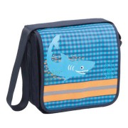 Lässig Mini Messenger Bag Classic Design Shark ocean