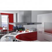 vidaXL Köksfläkt för köksöar med LCD-display