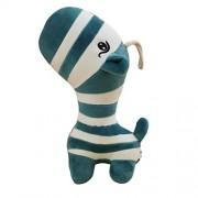 Plush Toys, Cute Zebra Plush Stuffed Animal Toy (Navy)