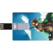 Printland Credit Card Shaped PC82748 8 GB Pen Drive(Multicolor)