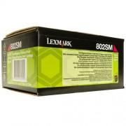 LEXMARK Cartridge for CX310/ CX410de/ CX410dte/ CX410e/ CX510de/ CX510dhe/ CX510dthe - 2 000 pages, Magenta (80C2SM0)