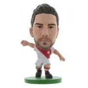 Figurina Soccerstarz As Monaco Joao Moutinho Home Kit
