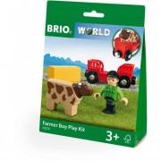 Farm játszószett - kisfiús - Brio