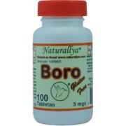 Boro 3mgs. 100 Tabletas