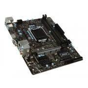 MSI B250M PRO-VH, Intel B250, VGA by CPU, PCI-Ex16, 2xDDR4, M.2, VGA/HDMI/USB3.1(Gen1), mATX (Socket 1151)