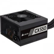 Захранване Corsair Builder Series CX 80+ Bronze, 550 Watt, ATX, EPS12V, PS/2, Power Supply, CP-9020121-EU