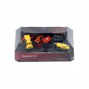 Set De 5 Figuras Disney Cars-Multicolor