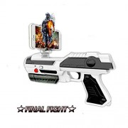 Dolisma Kids Game Ar Gun Bluetooth Augmented Shooting Games with 3D 360 for iPhone Android Smart Phones Boys and Girls, Kid's, Teens Adults