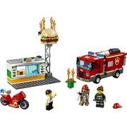 LEGO City 60214 Tűzoltás a hamburgeresnél