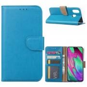 Bookcase Samsung Galaxy A40 hoesje - Blauw