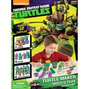 Teenage Mutant Ninja Turtles Turtle Maker Mold and Play Activity Set