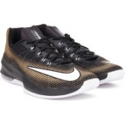 Nike AIR MAX INFURIATE LOW Sneakers For Men(Black, Gold)