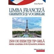 Teste grila limba franceza, admitere invatamant superior/Ionut Pepenel