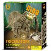 Geoworld Dino Excavation Kit - Triceratops Skeleton