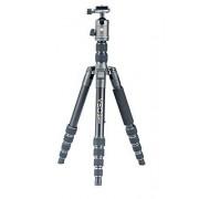 Vanguard VEO2GO265AB Trípode de Viaje de Aluminio con Cabeza de Bola para Sony, Nikon, Canon, Fujifilm sin Espejo, cámara compacta (CSC), DSLR