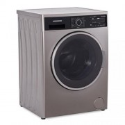 Masina de spalat rufe Heinner HWM-V8414SA+++, 8 Kg, 1400 RPM, Clasa A+++, Display Digital, Sistem Eco Logic, 60 cm, Argintiu