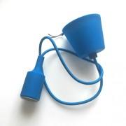 LED lámpa függeszték , E27 , kék