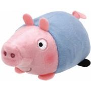 Jucarie plus 10 cm Teeny Tys Lic PEPPA PIG - George TY
