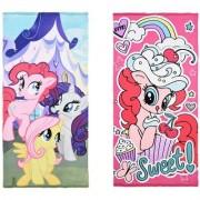 Pony My Little Pony bad handduk barn (Pinkie Pie, Apple Jack & Twilight Sparkle)