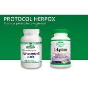 Protocol Herpox - recomandat pentru herpes genital