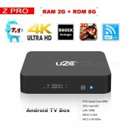 Android 7.1 Smart TV Caja Z Pro Amlogic Quad Core 2 GB / 8 GB ROM - enchufe de la UE
