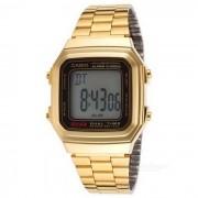 Casio A178WGA-1ADF reloj digital clasico unisex - dorado + negro