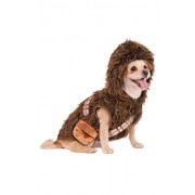Rubie's Star Wars Disfraz de Chewbacca con Capucha para Mascota, Marrón, Mediano