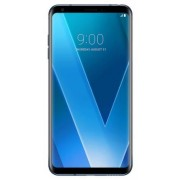 "Telefon Mobil Lg V30, Procesor Octa-Core 2.45GHz / 1.9GHz, P-OLED capacitive touchscreen 6"", 4GB RAM, 64GB Flash, Camera Duala 16+13MP, 4G, Wi-Fi, Android (Albastru) + Cartela SIM Orange PrePay, 6 euro credit, 6 GB internet 4G, 2,000 minute nationale si i"