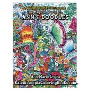 The Magical World of Ann's Doodles: A Kaleidoscopia Coloring Book