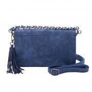 Geanta - Plic Dama Ulrika Design 35-4330-3 Albastru