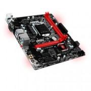Дънна платка MSI H110M GAMING, H110, LGA1151, DDR4, PCI-E(HDMI&DVI), 4x SATA 6Gb/s, 4x USB 3.1(Type A), червенa LED подсветка, mATX