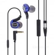 REMAX RM-S1 auriculares deportivos con auriculares in-ear - azul + negro