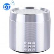 Portable Verdadero Wireless Stereo Mini Altavoz Bluetooth Con Indicador LED Y Arnés Para IPhone, Samsung, HTC, Sony Y Otros Smartphones (plata)