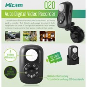 Mini Micro Telecamera Nascosta Micam Q20 Video Recorder Motion Detection