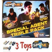 Spy Net Special Agent Triple Pack by Spy Gear
