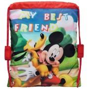 Sac 29 cm Mickey si Pluto Friends