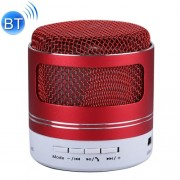 Portable Mini Bluetooth Speaker Built-in Mic for iPhone Samsung HTC Sony and other Smartphones (Red)