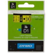 Dymo 45018 Cinta mecanográfico negro sobre amarillo Original S0720580