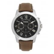 メンズ FOSSIL GRANT 腕時計 ブラック