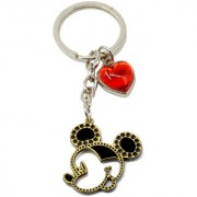 Faynci Unique ultimate love theme awesome Key chain with Red Heart Love gift for every love Couple