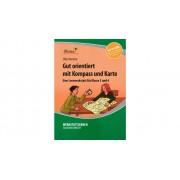 Lernbiene Lernwerkstatt: Gut orientiert mit Kompass und Karte