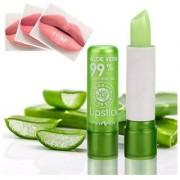 1pcs Moisture Melt Lip Balm Long-Lasting Change Color lipstick Aloe Nonstick Cup Balm Anti Aging Makeup Lip Care Beauty