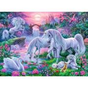 Puzzle Ravensburger - Unicorni La Apus, 150 piese (10021)